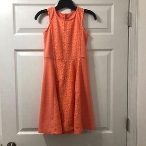 Girls Coral Dress- XL